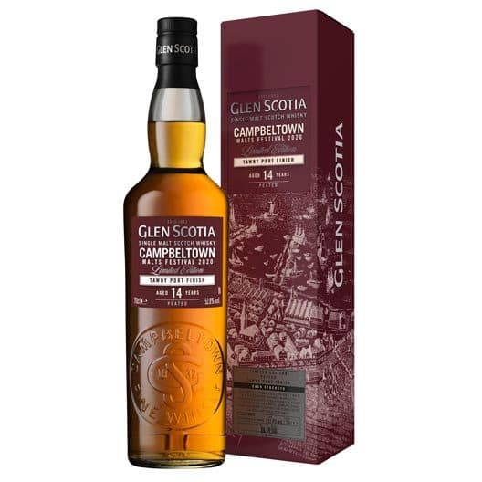 Виски Glen Scotia 14 yo, Malts Festival 2020 Limited Edition, Tawny Port Finish