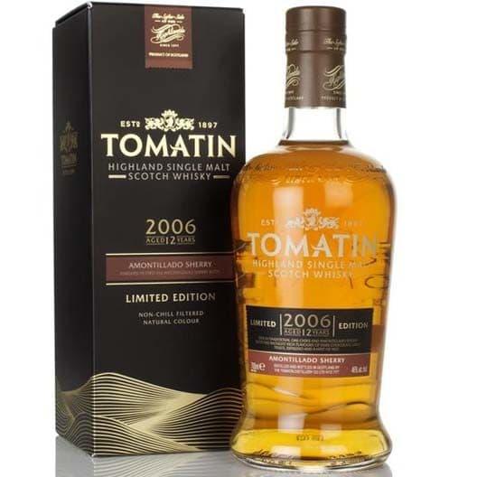 Виски Tomatin Amontillado Sherry 2006 (Limited Edition) 12 y.o.