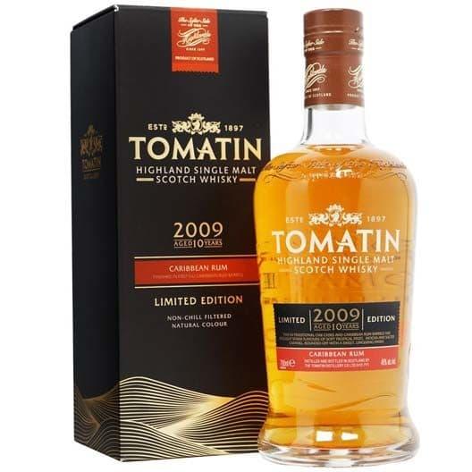 Виски Tomatin Caribbean Rum 2009 (Limited Edition) 10 y.o.