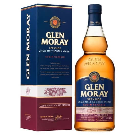 "Виски ""Glen Moray"" Elgin Classic Cabernet Cask Finish"