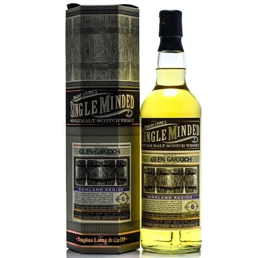 """Виски """"Single Minded"""" Glen Garioch 8 years"""