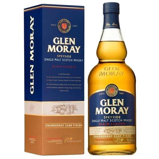 "Виски ""Glen Moray"" Elgin Classic Chardonnay Cask Finish"