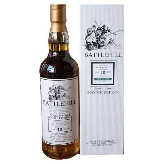 "Виски ""Battlehill"", Miltonduff, 10 Years Old, 2009"