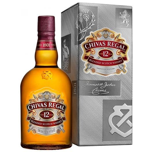 "Виски ""Chivas Regal"" 12 years old, 1 л"
