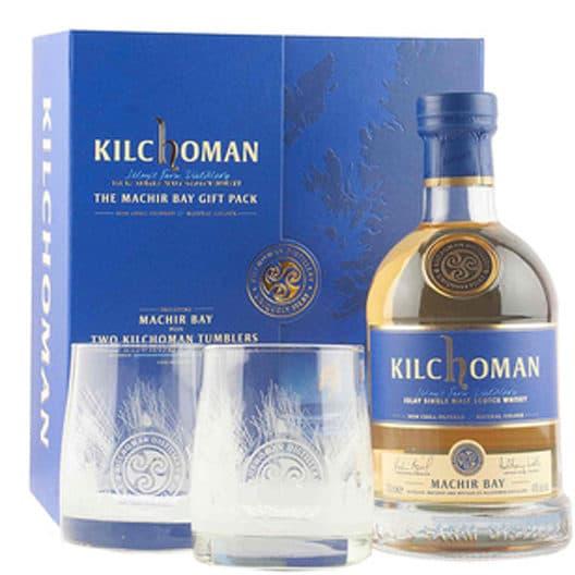 Виски Kilchoman Machir Bay + 2 бокала