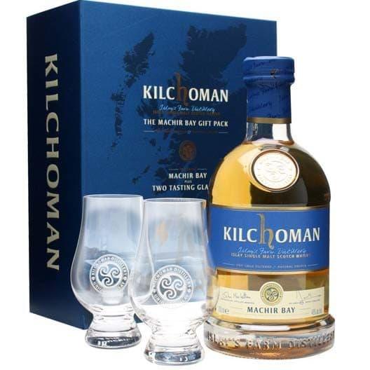 Виски Kilchoman Machir Bay + 2 бокала Glencairn