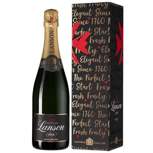 "Шампанское Lanson, ""Black Label"" Brut"