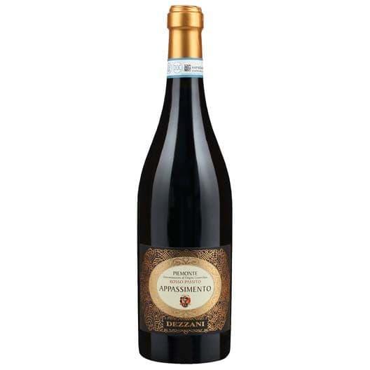 Вино Dezzani, Appassimento Rosso-Passito, Piemonte DOC