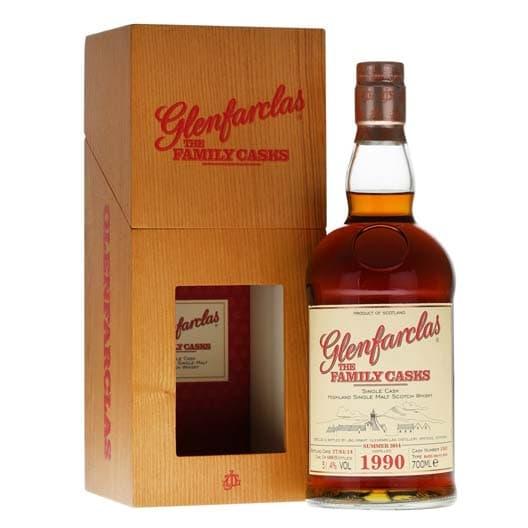 "Виски Glenfarclas 1990 ""Family Casks"""