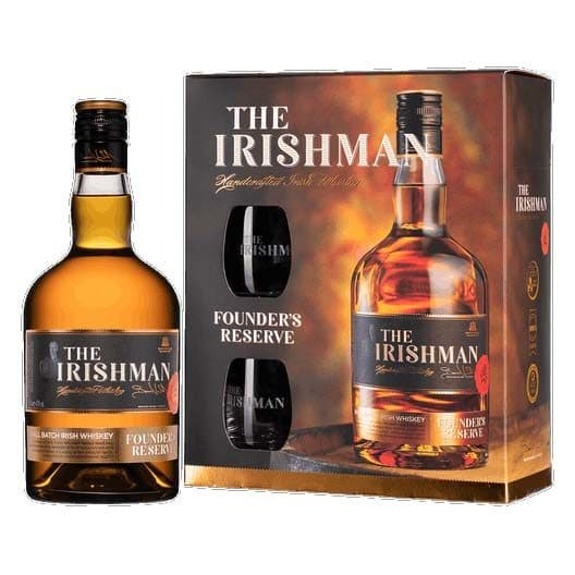 Виски «The Irishman» Founder's Reserve в ПУ с 2 бокалами