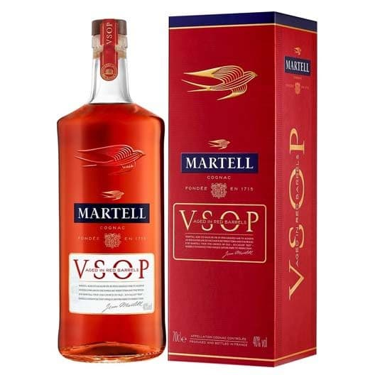 "Коньяк ""Martell"" VSOP Aged in Red Barrels"