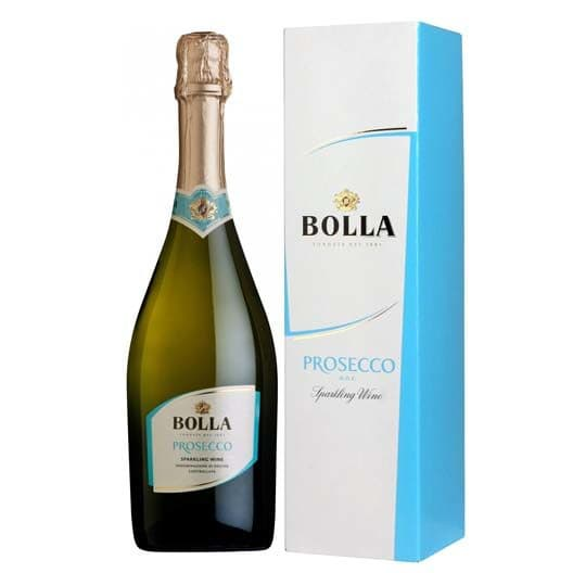 Игристое вино Bolla, Prosecco DOC Extra Dry в подарочной упаковке