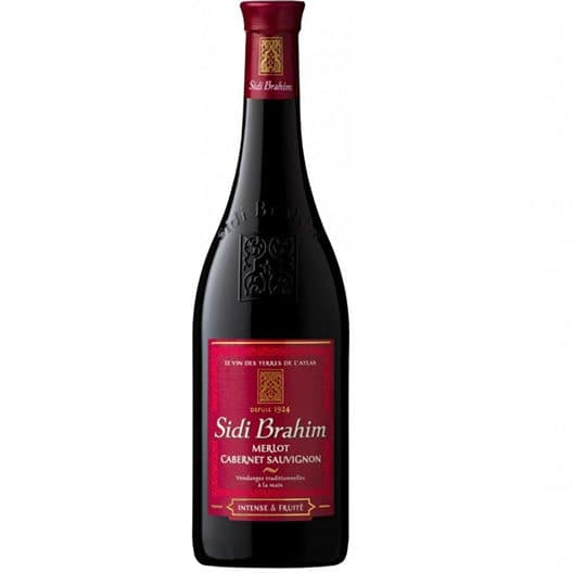 Вино Sidi Brahim Merlot Cabernet Sauvignon Red
