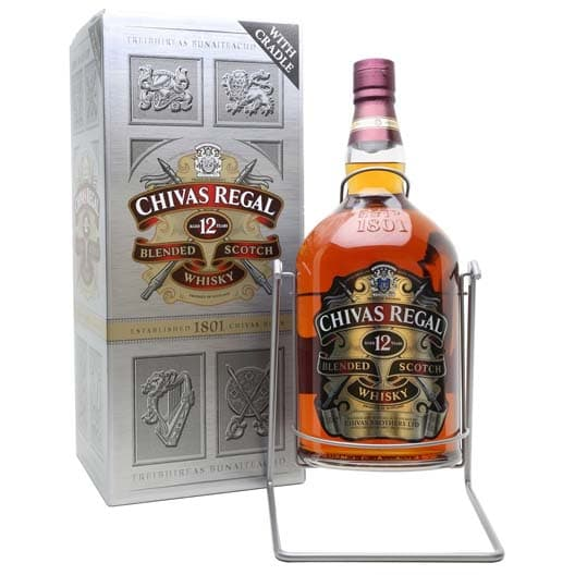 "Виски ""Chivas Regal"" 12 years old, 4,5 л"