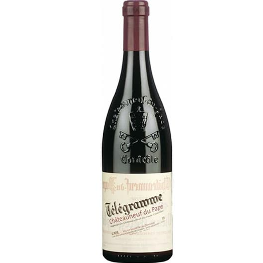 "Вино Vignobles Brunier ""Telegramme"" Chateauneuf-du-Pape AOC 2018"