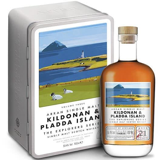 Виски ARRAN Kildonan & Pladda Island (Vol. 3) 21 y.o.