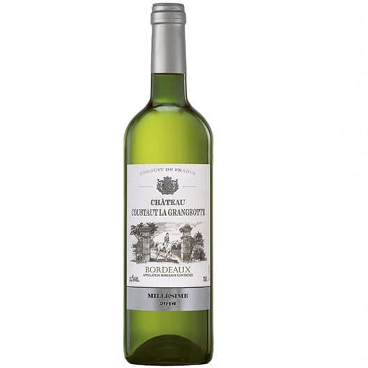 Вино Chateau Coustaut La Grangeotte Blanc Bordeaux AOC