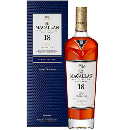 Виски Macallan Double Cask 18 Years Old
