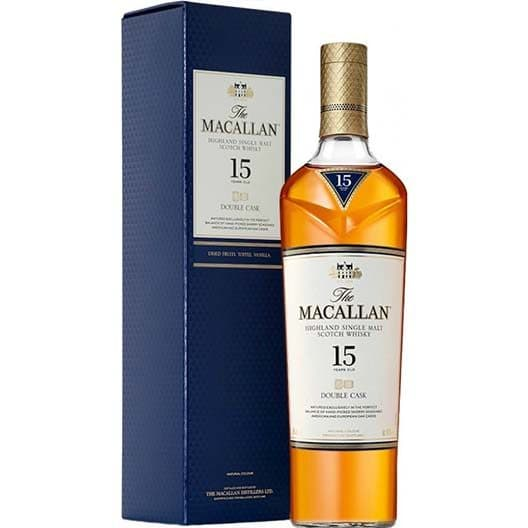 Виски Macallan Double Cask 15 Years Old