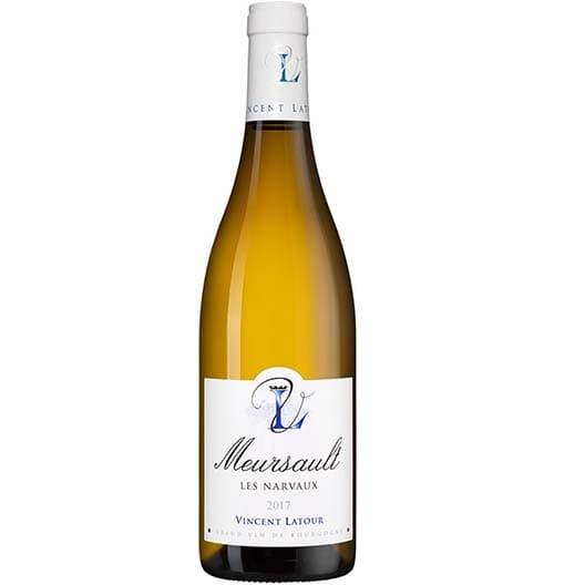 """Вино Vincent Latour """"Les Narvaux"""" Meursault AOC 2017"""
