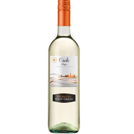 Вино Cielo e Terra Trebbiano-Pinot Grigio 2019