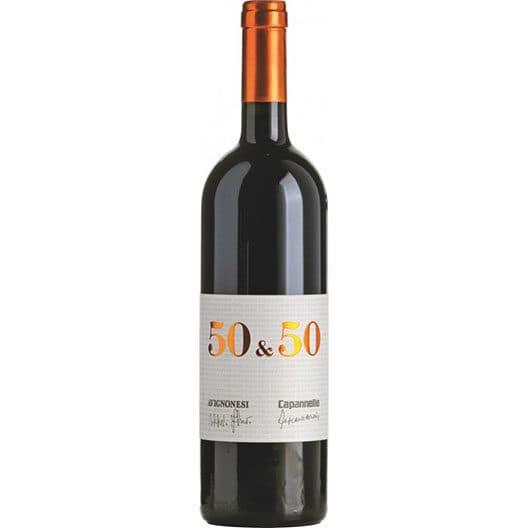 """Вино """"50 & 50"""" Toscana IGT"""