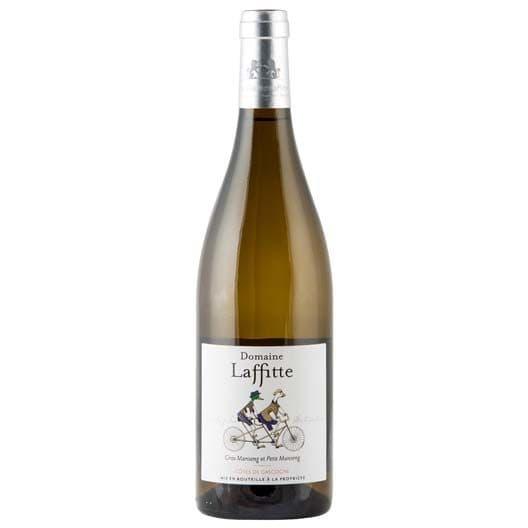 Вино Domaine Laffitte, Gros Manseng-Petit Manseng, Cotes de Gascogne IGP