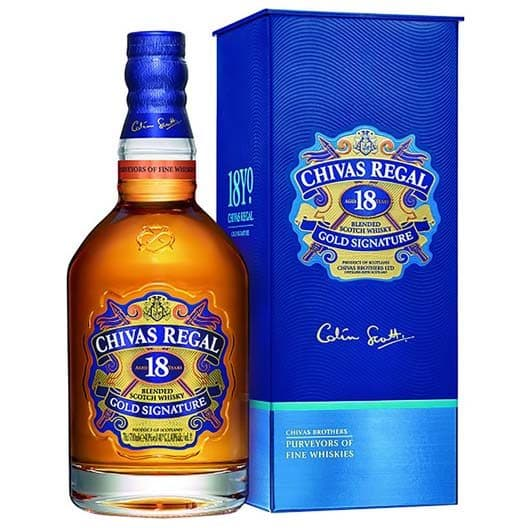 "Виски ""Chivas Regal"" 18 years old 0,7"