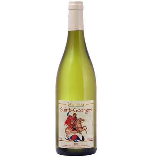 "Вино Benoit Gautier ""Saint-Georges"" Vouvray AOC 2016"