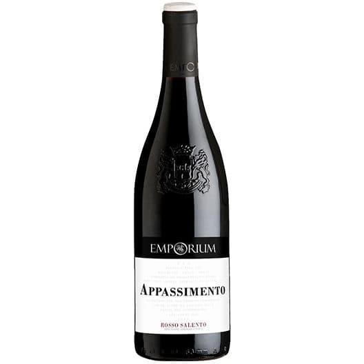 "Вино ""Emporium Appassimento Rosso Salento"" Puglia IGT"
