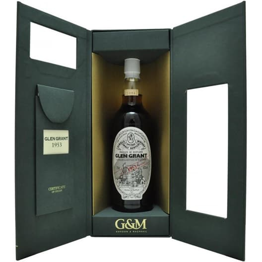 "Виски Gordon and Macphail ""Glen Grant"" 1953"