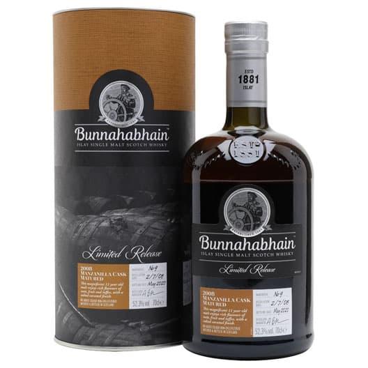"""Виски """"Bunnahabhain"""" Manzanilla Cask Finish, 2008"""