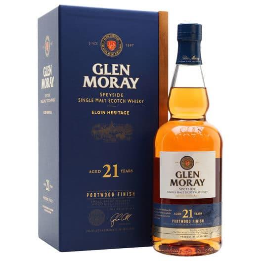 Виски Glen Moray 21 years old