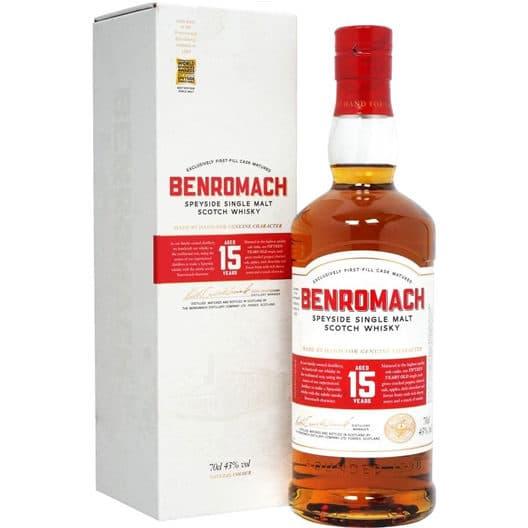 Виски Benromach 15 y.o.