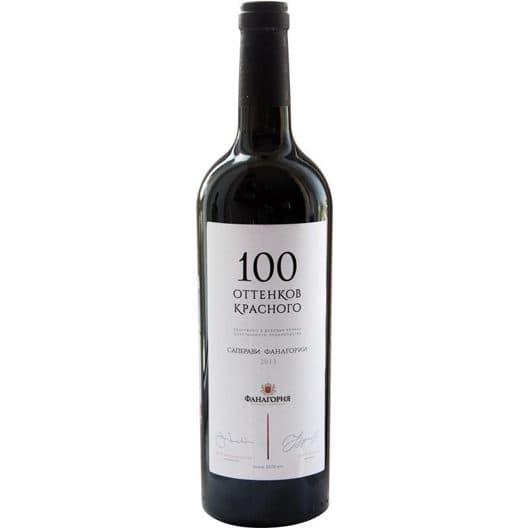 Вино Фанагория «100 оттенков красного» Саперави