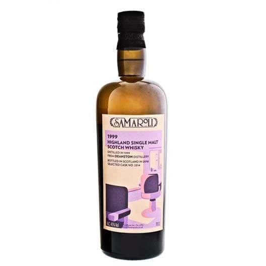 Виски Samaroli Deanston Highland Single Malt Scotch 1999