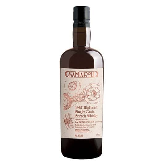 Виски Samaroli Invergordon Single Grain Scotch 1987