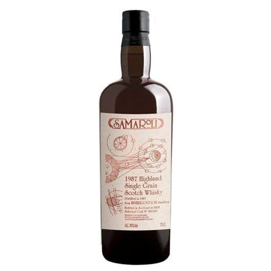Виски Samaroli Invergordon Single Grain Scotch 1987