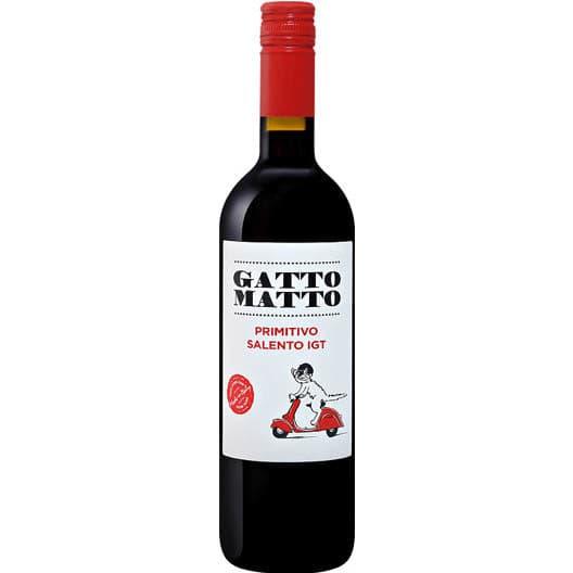 Вино Gatto Matto Primitivo Salento IGT