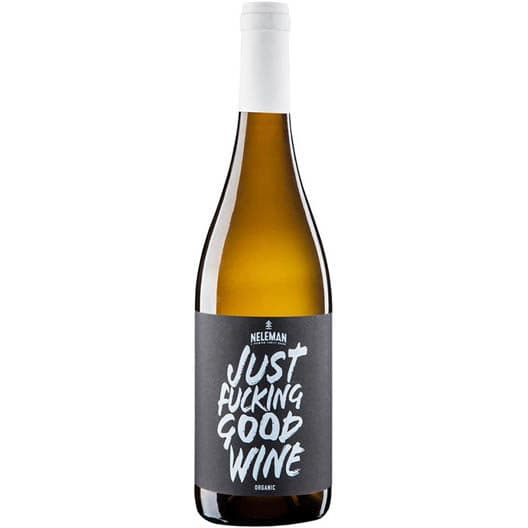 "Вино Neleman ""Just Fucking Good Wine"" Valencia DO White"