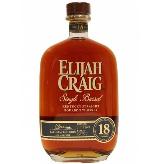 Виски Elijah Craig Single Barrel 18 y.o.