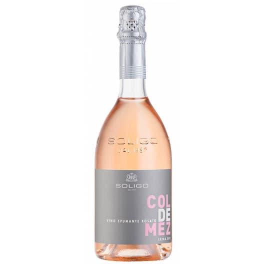 Вино игристое Col de Mez Rose Extra dry