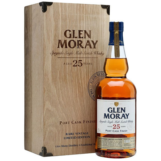 "Виски ""Glen Moray"" 25 Years Old Port Cask Finish"