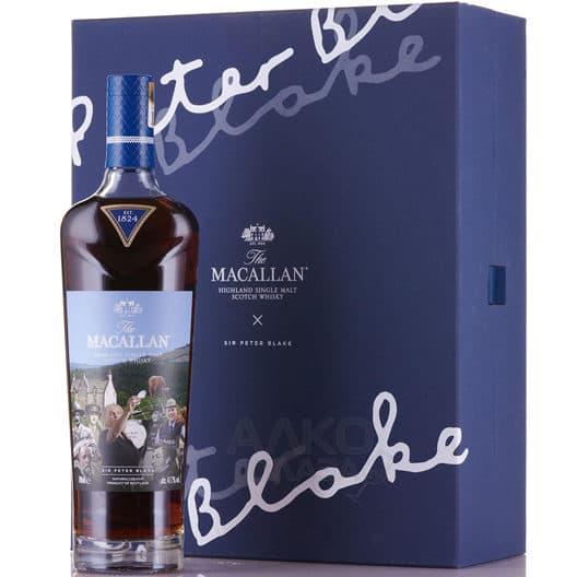 """Виски Macallan """"Sir Peter Blake"""""""