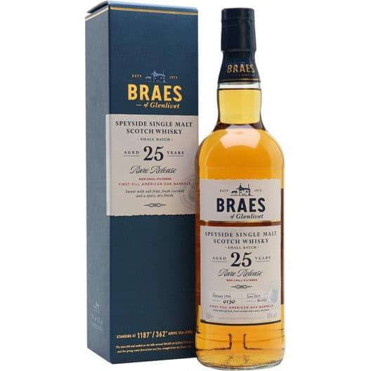 Виски Braes of Glenlivet 25 y.o.