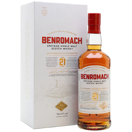 "Виски ""Benromach"" 21 Years Old"