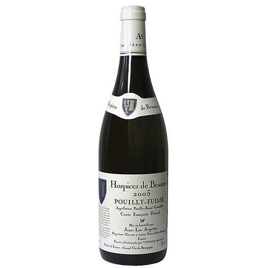 Вино Puillie-Fuisse АОС Aegerter Hospices de Beaune Cuvee Francoise Poisard 2011