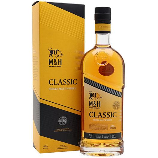 """Виски M&H """"Classic"""", gift box"""