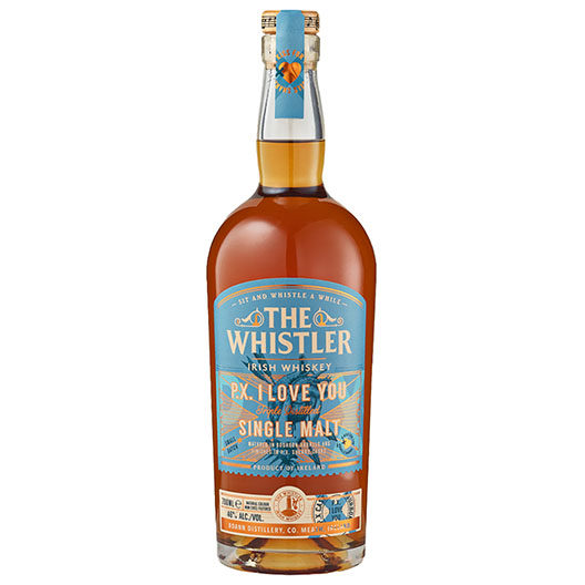 The Whistler P.X. I Love You Single Malt Irish Whiskey