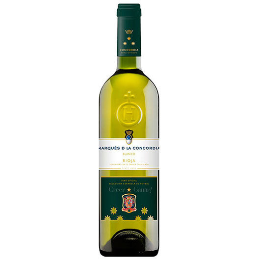 Вино Marques de la Concordia, Tempranillo Blanco, Rioja DOC